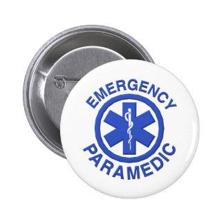 Medical Emergency Paramedic 6 Cm Round Badge