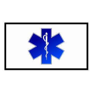 Medical EMS Symbol Business Card Template