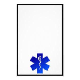 Medical EMS Symbol Stationery