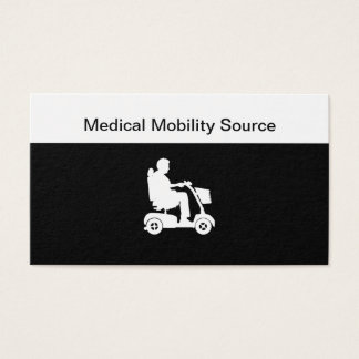 Medical Equipment Supply Business Card