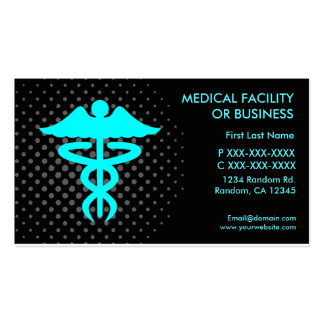 Medical facility or business customizable cards pack of standard business cards