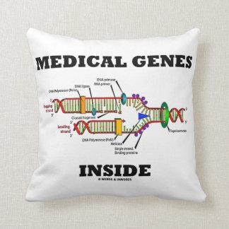Medical Genes Inside DNA Replication Genetics Cushion