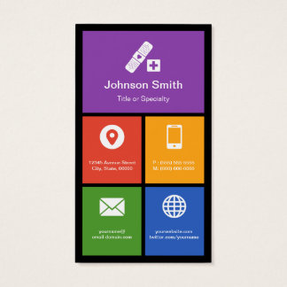 Medical Health Care - Colorful Tiles Creative