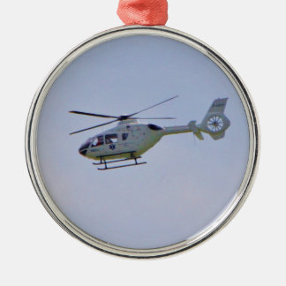 Medical Helicopter Christmas Ornament