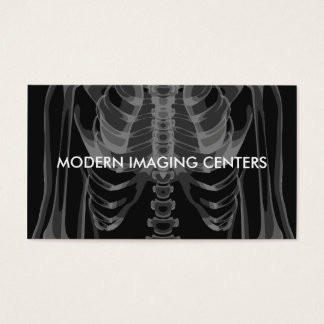 Medical Imaging Radiology Business Card
