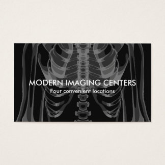 Medical Imaging Radiology Multi Location Business Card