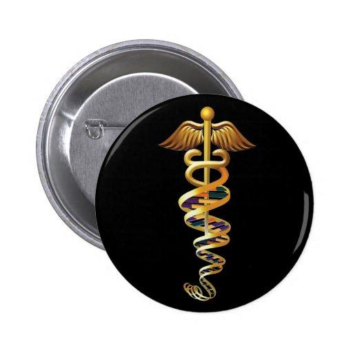 Medical Insignia Button