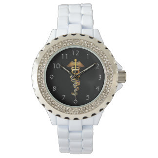 Medical Insignia Wrist Watches