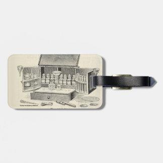 Medical kit luggage tag
