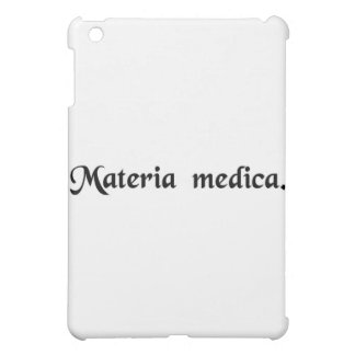 Medical matter. iPad mini case