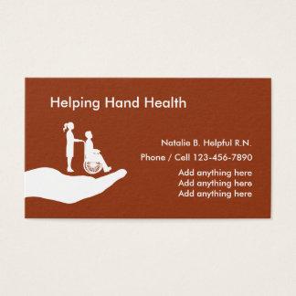 Medical Nurse Health Business Card