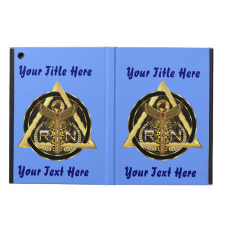 Medical Nurse Logo Universal VIEW ABOUT Design iPad Air Cases