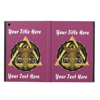 Medical Nurse Logo Universal VIEW ABOUT Design iPad Air Cover