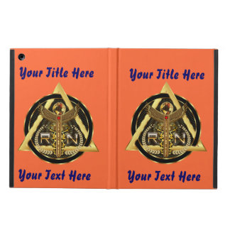 Medical Nurse Logo Universal VIEW ABOUT Design Case For iPad Air