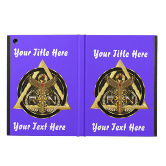 Medical Nurse Logo Universal VIEW ABOUT Design Cover For iPad Air