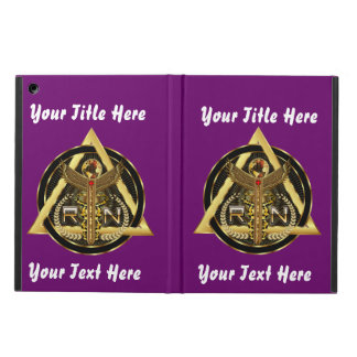 Medical Nurse Logo Universal VIEW ABOUT Design iPad Air Covers