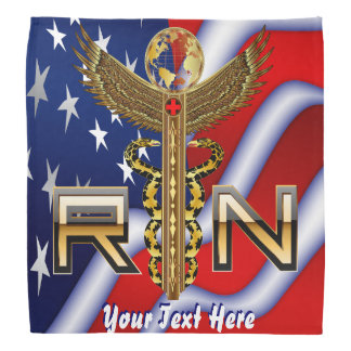 Medical Nurse RN Desing 1 of 2 View about Design Kerchief