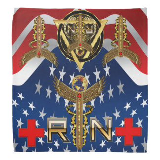 Medical Nurse RN Desing 2 of 2 View about Design Kerchiefs