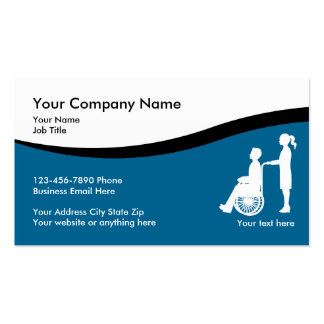Medical Nursing Business Cards