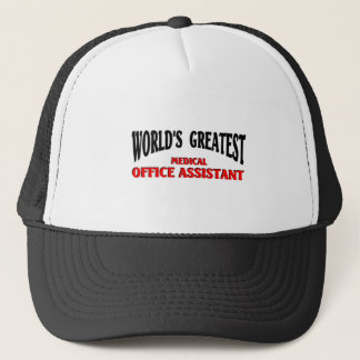 Medical Office Assistant Trucker Hat