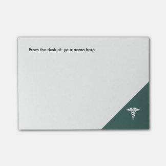 Medical Office Caduceus Symbol Post-it Notes
