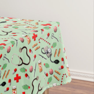 Medical Party Tablecloth