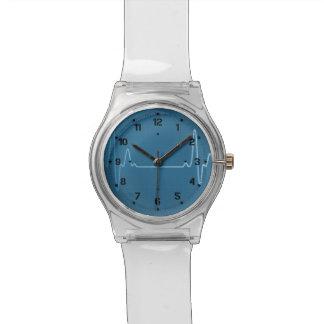 Medical Profession Nurse Physician Healthcare EKG Wrist Watches