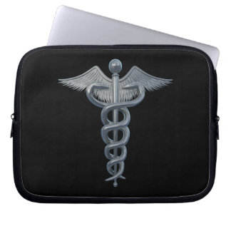 Medical Profession Symbol Laptop Sleeve