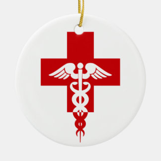 Medical Professional ornament, customize Christmas Ornament