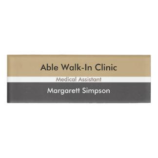 Medical Professional Staff Name Tag