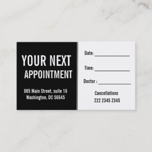 For dentist patients business cards business card printing zazzle uk medical psysicians hospital patient appointment reheart Image collections