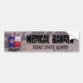 MEDICAL RANGER, TEXAS STATE GUARD ACU CAR BUMPER STICKER