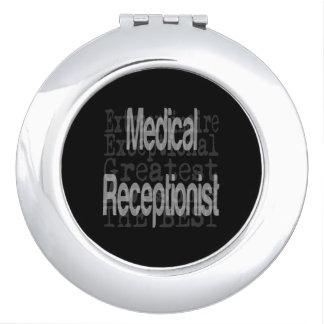 Medical Receptionist Extraordinaire Vanity Mirror