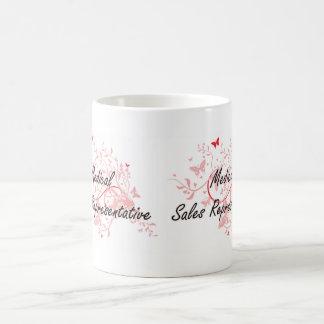 Medical Sales Representative Artistic Job Design w Basic White Mug