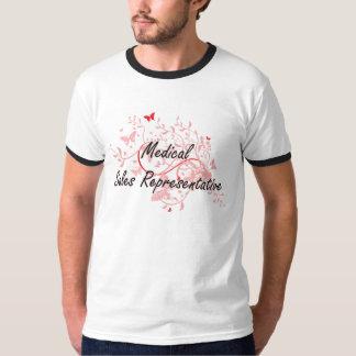 Medical Sales Representative Artistic Job Design w T-Shirt