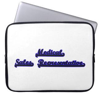 Medical Sales Representative Classic Job Design Laptop Sleeve
