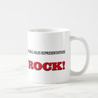 Medical Sales Representatives Rock Coffee Mug