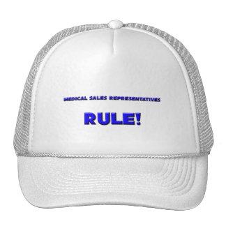 Medical Sales Representatives Rule! Mesh Hats