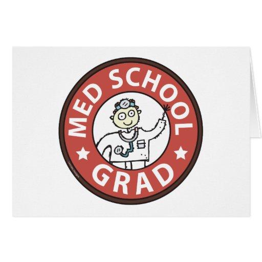 Medical School Grad (Male) Cards