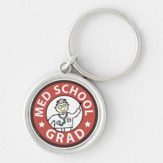 Medical School Grad (Male) Key Chain