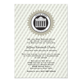 Medical School Graduation Invitation
