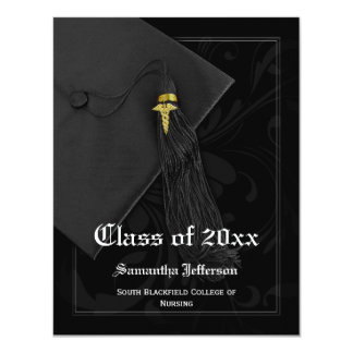 Medical School or Nursing Graduation Announcement