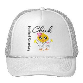 Medical Secretary Chick Mesh Hats