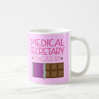 Medical Secretary Chocolate Gift for Her Coffee Mug