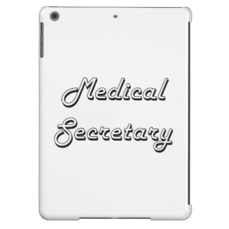 Medical Secretary Classic Job Design Case For iPad Air