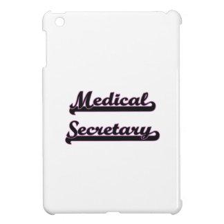 Medical Secretary Classic Job Design iPad Mini Cover