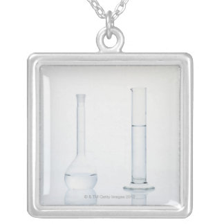 Medical Shots 4 Silver Plated Necklace