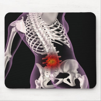 Medical Skeleton Mousepad