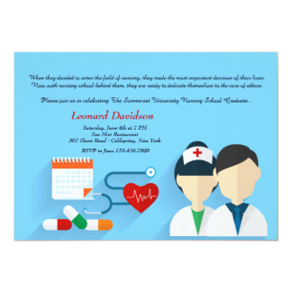 Medical Staff Graduation Invitation