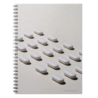 Medical Still Life 4 Notebooks